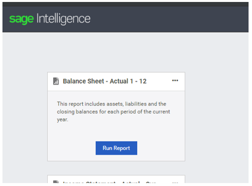 Part 2 of 3: Learn how to customize your reports with Sage 50cloud Intelligence